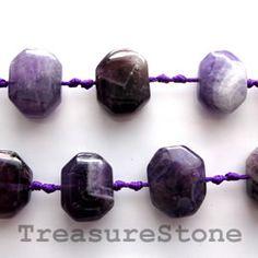 Bead, amethyst, nuggets 3. TreasureStone Beads Edmonton