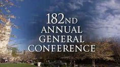 """Wonderful summary of recent talks at the LDS General Conference, captured by Mormon blogger """"An Ordinary Mom"""""""