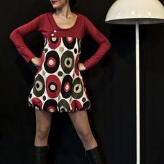 Yo compré vestido sixth rojo en Lish, € 58,10