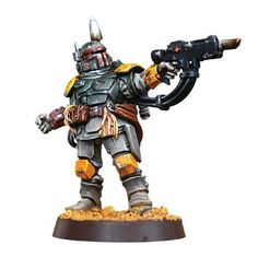 He's No Good to Me Dead - Boba Fett converted from Cadian Kasrkin Sgt.  BRILLIANT!