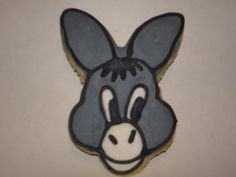 I got this order for a donkey cookie because I was rushed I used a rabbit cookie cutter. These are no fail sugar cookies with royal icing. Royal Icing Cookies, Sugar Cookies, Cookie Images, Chinese New Year, Donkey, Christmas Baking, I Got This, Cookie Decorating, Cookie Cutters