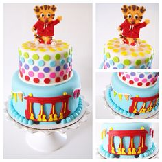 Daniel tiger's neighborhood cake