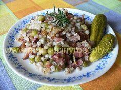 Šoulet s uzeným masem Quinoa, Potato Salad, Grains, Cooking Recipes, Potatoes, Ethnic Recipes, Food, Recipes, Essen