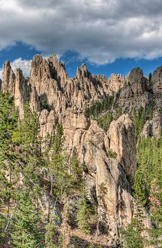 The Needles, Custer State Park, Black Hills, South Dakota © Photomatt28