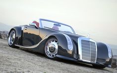 1955 Mercedes-Benz 300 SC Serves As Inspiration For Custom SLS AMG Roadster.