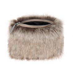 9440d60d80 Sand Faux Fur Coin Purse