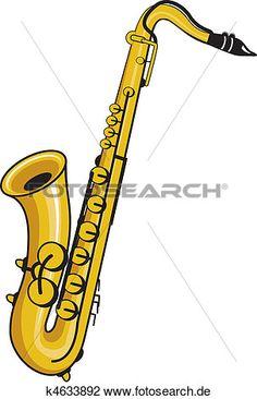 saxophon Große Clipart Grafik anschauen
