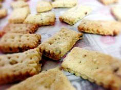 Garam Masala Nibbles - these look like interesting little cracker-ish things
