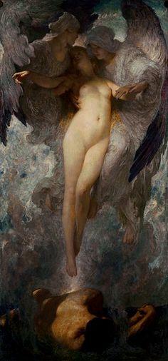Solomon Joseph Solomon - Birth of Eve, 1908