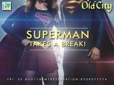Superman Takes a Break Take A Break, Take That, Superman, City, Movies, Movie Posters, Film Poster, Films, Popcorn Posters