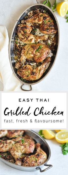 Grilled Thai Chicken
