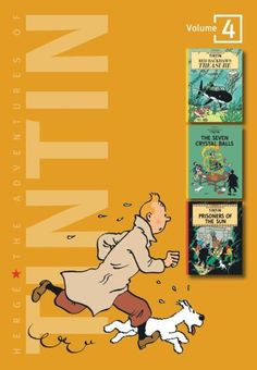 The Adventures of Tintin Three-In-One Series #4