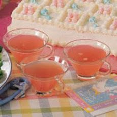 Baby Shower Champagne Punch | Pink Punch Recipes | Yummly