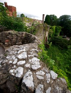 Ruthin Castle North wales