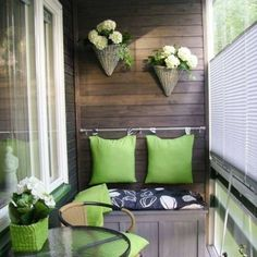 50 Awesome Apartment Balcony Design Ideas for Small Space « knoc knock - Balcony Ideas - Balcony Furniture Design Narrow Balcony, Small Balcony Design, Small Balcony Decor, Small Patio, Balcony Ideas, Balcony Decoration, Tiny Balcony, Pergola Ideas, Apartment Balcony Garden