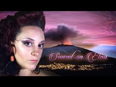 Sunset on Etna Makeup Tutorial - tramonto sull'Etna | neve cosmetics | mac