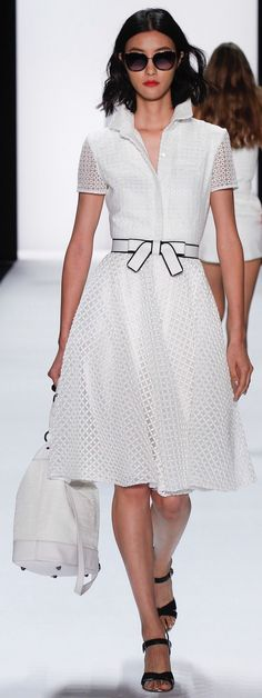 Badgley Mischka, spring 2016 Ready-to-Wear