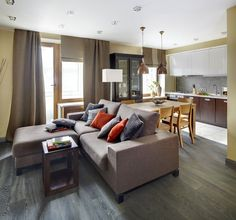 Cozy Apartment in Moscow by Odnushechka - CAANdesign | Architecture and home design blog