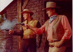 WAR WAGON (1967)  John Wayne and Kirk Douglas