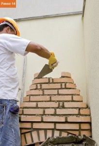 CONSTRUTORA SOUSA: Churrasqueira de tijolos, em 22 passos. Barbecue, Jenga, Masonry Bbq, Bricks, Cookers, Ovens, Cubes, Creative Crafts, Creativity