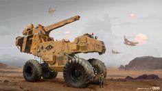 ArtStation - DESERT EXPLORER - TRIBUTE TO HOMEWORLD : Deserts of Kharak, Yohann Schepacz OXAN STUDIO