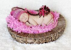 Little Elf Knit Baby Hat in Pink or Blue by LittleKnitLovey, $15.95
