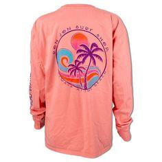 1b12fb5c87 Ron Jon Ladies Always At The Beach Long Sleeve Tee