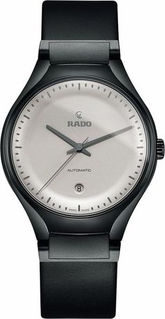 Rado True Cyclo Limited Edition Silver Dial Black Ceramic Case and Leather Strap Men's Watch Vintage Watches For Men, Antique Watches, Luxury Watches For Men, Cool Watches, Rolex Watches, Trendy Watches, Wrist Watches, Old Pocket Watches, Silver Pocket Watch