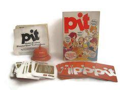 Vintage Retro PIT Game Parker Brothers by BeckVintage on Etsy