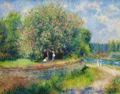 Castaño en Flor - Renoir (1881) Reproducción
