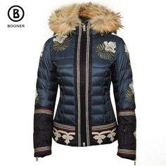 Bogner Leana-D Ski Jacket with Real Fur (Women's)   Peter Glenn
