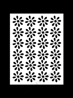 FLORAL MAT 4 by Apetroae Stefan With optional backing plate