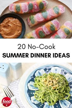 From stacked sandwiches to hearty salads and inventive leftovers to delectable desserts, these are our favourite go-to meals in the hot hot heat. Food Network Canada, Tasty Dishes, Slow Cooker Recipes, Easy Dinner Recipes, Food Network Recipes, Entrees, Sandwiches, Meals, Cooking