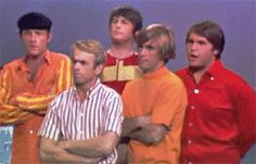 The Beach Boys on The Jack Benny Show in 1965 lol