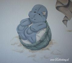 Blue Nose Friends - schildpad  Kattentong.nl