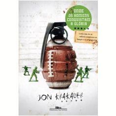 """Livro: """"Onde os Homens Conquistam a Glória"""", de Jon Krakauer"""