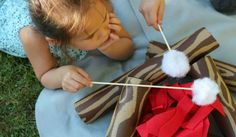 Don't let those pool noodles go to waste! Get crafting! Your kids, grand-kids and neighborhood kiddos will love this! Camping Room, Camping Theme, Outdoor Games, Outdoor Fun, Camping Parties, Camping Games, Camping Activities, Family Activities, Handmade Toys