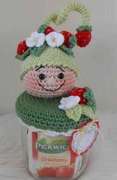 Van alles en nog wat!... | Bizzy Bee Klaske | Bloglovin' Crotchet Patterns, Crochet Basket Pattern, Christmas Crochet Patterns, Amigurumi Patterns, Knitting Patterns, Cute Crochet, Knit Crochet, Crochet Hats, Crochet Jar Covers