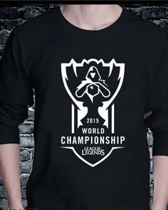 league of legends world championship 2015  t shirt   LOL S5 team shirts