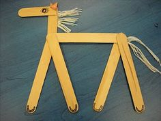 Popsicle Stick Horses