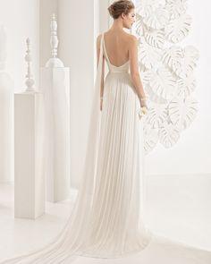 Nacir vestido novia de seda