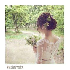 「#takamibridal#wedding#bridal#hairmake#kyoto#weddingphoto#タカミブライダル#北山ウェディングストリート#ヘアメイク#ブライダルヘアメイク#ウェディング#ウェディングドレス#京都#北山ルアンジェ教会#ノーザンチャーチ北山教会#前撮り#photowedding#ヘアアレンジ#ヘアセット#kws_hairmake」