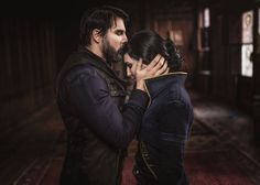 #Dishonored 2 Incredible Corvo and Emily cosplay from Maul Cosplay