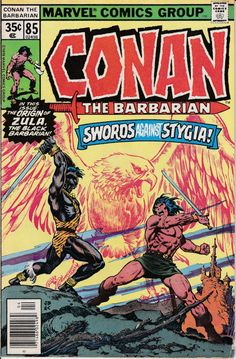 Conan the Barbarian 1970 Marvel 85 April 1978 Issue by ViewObscura, $2.00