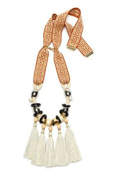 Aztec Fringe Necklace