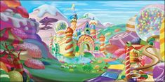 Backdrops: Candyland 1D (Has more in series)