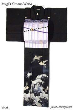 summer kimono coordination