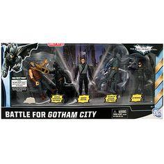 Batman The Dark Knight Rises Battle for Gotham City Figure Set$34.99