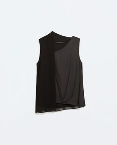 Image 6 of DRAPED TOP from Zara