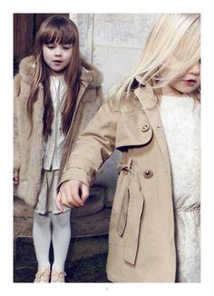 Parisian style kidswear by Chloe for girls fashion fall 2014